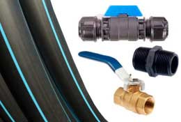 Valves, Pipes, Fittings - Irrigear